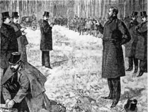 Duell zwischen Paul Déroulède und Georges Clemenceau 1892