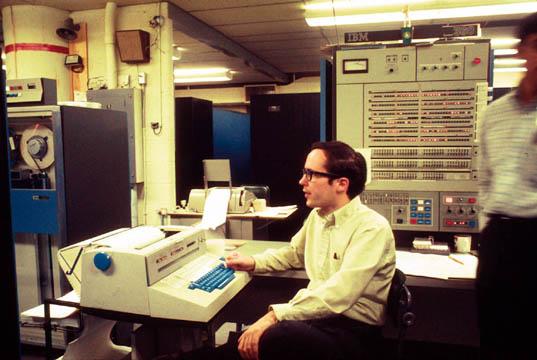 IBM S/360 Model 67 Duplex mainframe computer