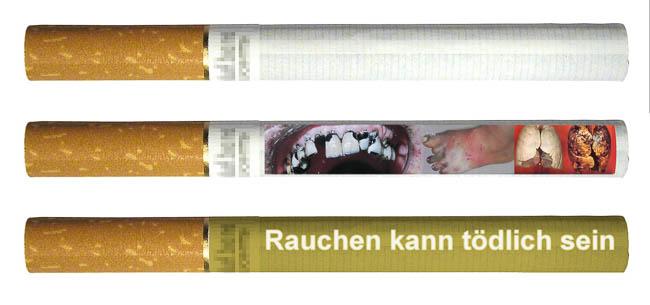 Zigaretten Ekelbilder