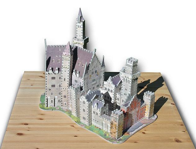 3D Puzzle Neuschwanstein