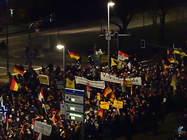 Pegidia-Demo in Dresden