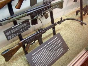 Gewehr mit Krummlauf