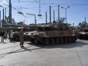 Leopard 2-Panzer