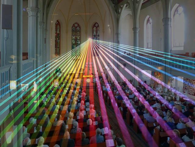 Hologramm-Gottesdienst