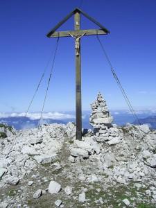 Gipfelkreuz in Bayern