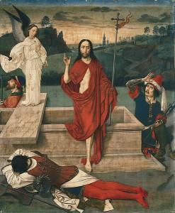 Auferstehung von Dieric Bouts