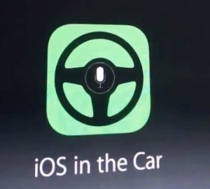 iOS in the car / Siri