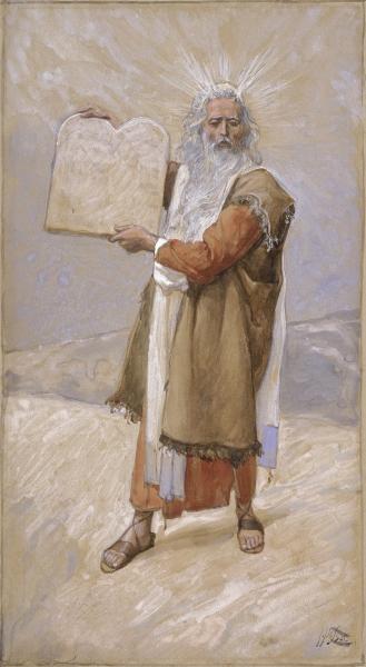 Moses und die 12 Gebote