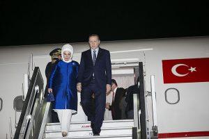 Erdogan und Frau