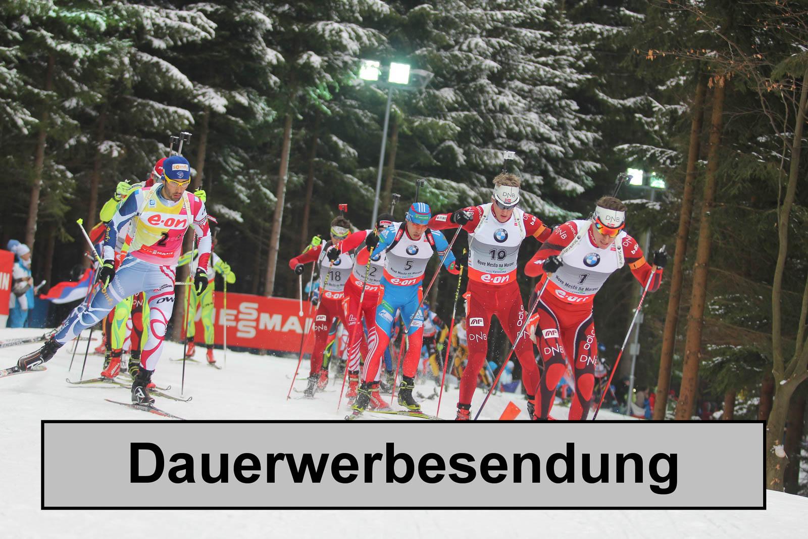 Biathlon-Fernsehübertragung