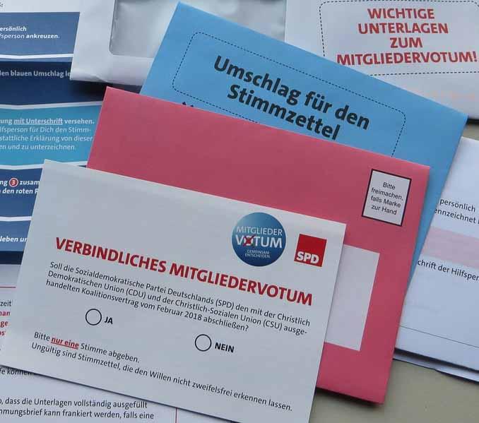 SPD-Mitgliederentscheid 2018