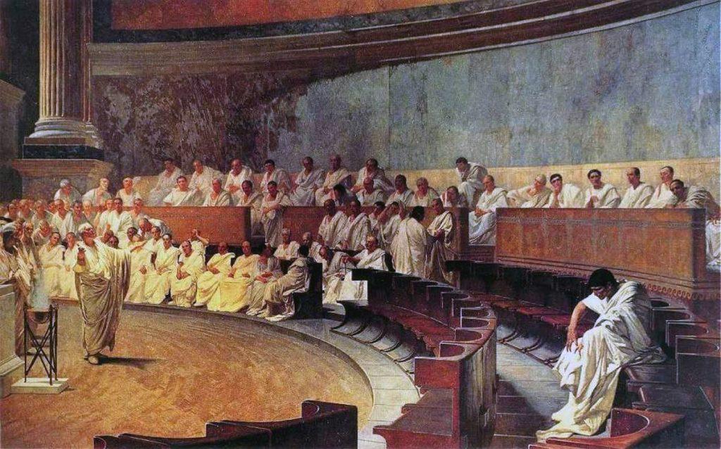 Gericht, altes Rom