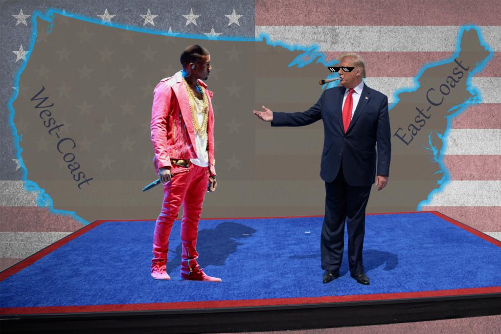 Kanye West & Donald Trump
