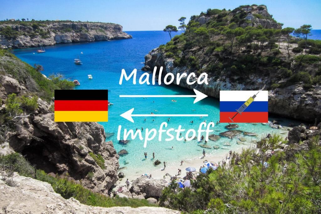 Deutschland Mallorca gegen Impfstoff