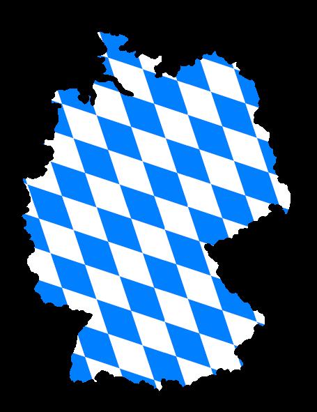 Deutschland Weiß-Blau
