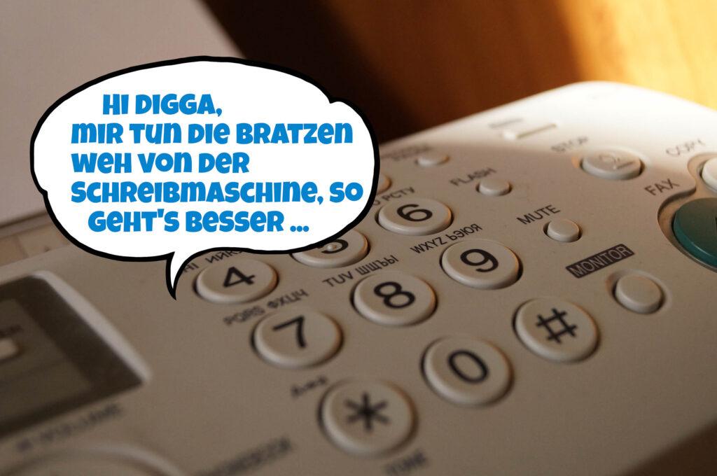 Fax mit Sprachfunktion G5